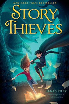Story Thieves book cover