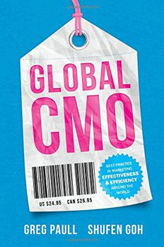 Global CMO book cover