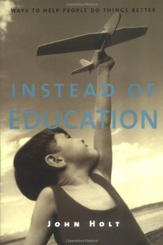 Instead of Education book cover