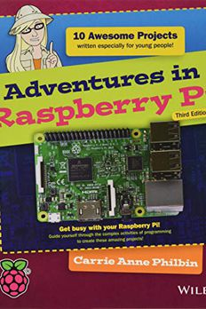 Adventures in Raspberry Pi book cover