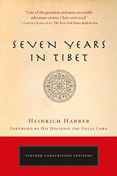 Seven Years in Tibet book cover