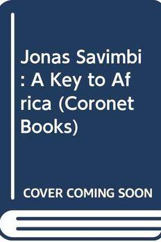 Jonas Savimbi book cover