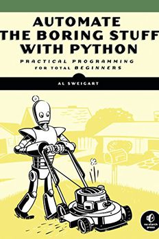 Automate the Boring Stuff with Python book cover
