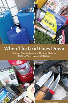 When The Grid Goes Down, Disaster Preparations and Survival Gear For Making Your Home Self-Reliant book cover