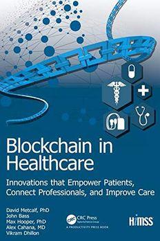 Blockchain in Healthcare book cover