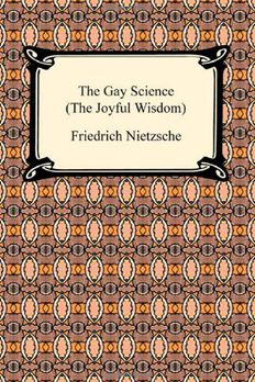 The Gay Science book cover