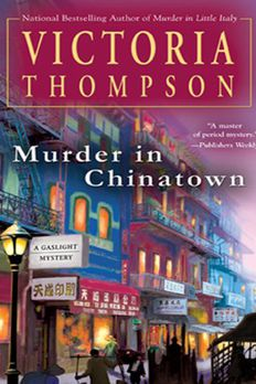 Murder in Chinatown book cover
