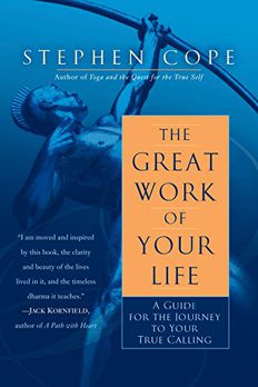 The Great Work of Your Life book cover