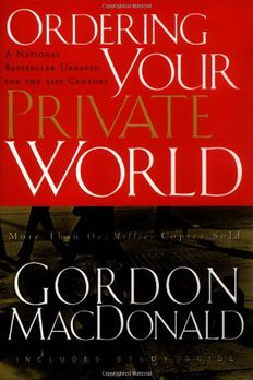 Ordering Your Private World book cover