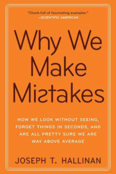 Why We Make Mistakes book cover