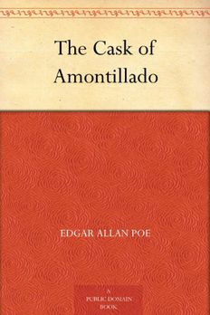 The Cask of Amontillado book cover