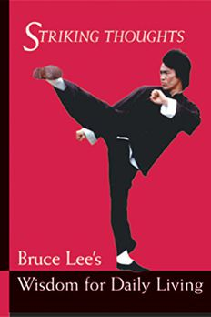 Bruce Lee Striking Thoughts book cover