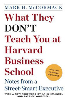 What They Don't Teach You at Harvard Business School book cover
