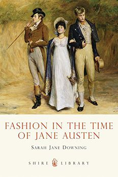 Fashion in the Time of Jane Austen book cover
