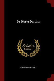 Le Morte Darthur book cover