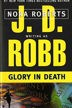 Glory in Death book cover