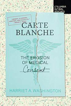 Carte Blanche book cover