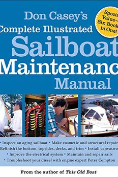 Don Casey's Complete Illustrated Sailboat Maintenance Manual book cover