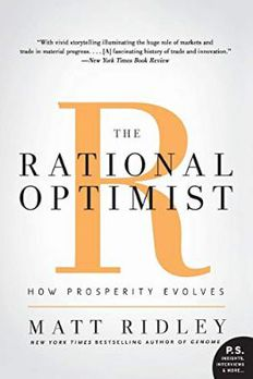 The Rational Optimist book cover