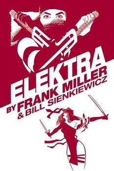 Elektra by Frank Miller Omnibus book cover
