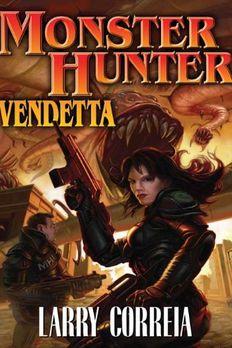 Monster Hunter Vendetta book cover