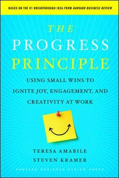 The Progress Principle book cover