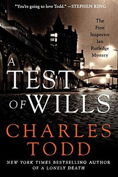 A Test of Wills book cover