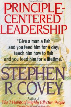 Principle Centered Leadership book cover
