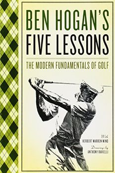 Ben Hogan's Five Lessons book cover