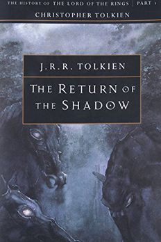 The Return of the Shadow book cover