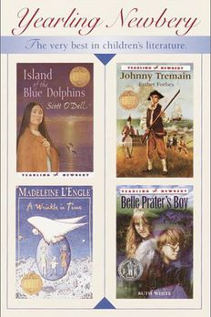 Newbery Boxed Set (Island of the Blue Dolphins, Johnny Tremain, Belle Prater's Boy, Wrinkle in Time, Black Cauldron, Black Pearl, Watson's Go to Birmingham 1963, Lily's Crossing) book cover