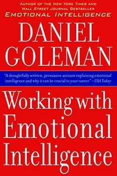 Working with Emotional Intelligence book cover