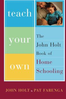 Teach Your Own book cover