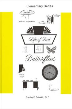 Life of Fred: Butterflies book cover
