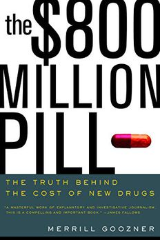 The $800 Million Pill book cover