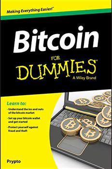 Bitcoin For Dummies book cover