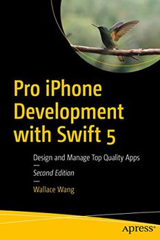Pro iPhone Development with Swift 5 book cover