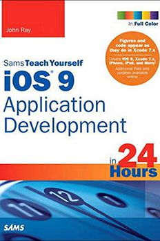 iOS 9 Application Development in 24 Hours, Sams Teach Yourself book cover