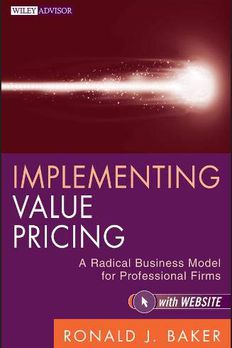 Implementing Value Pricing book cover