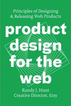 Product Design for the Web book cover