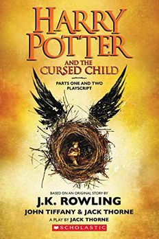 Harry Potter and the Cursed Child, Parts One and Two book cover