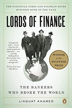 Lords of Finance book cover