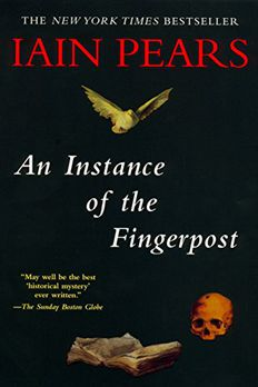 An Instance of the Fingerpost book cover