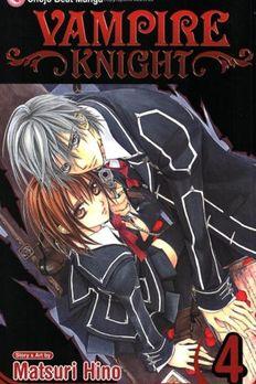 Vampire Knight, Vol. 4 book cover