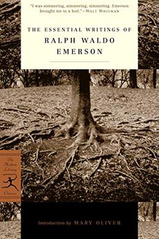 The Essential Writings of Ralph Waldo Emerson book cover