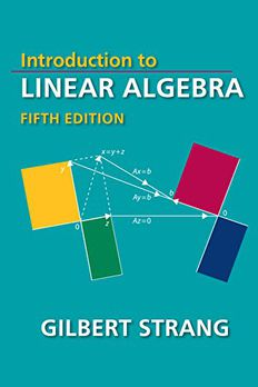 Introduction to Linear Algebra, Fifth Edition book cover