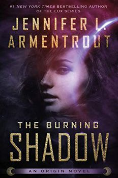 The Burning Shadow book cover