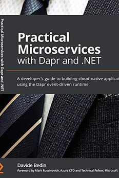 Practical Microservices with Dapr and .NET book cover