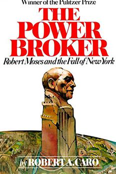 The Power Broker book cover