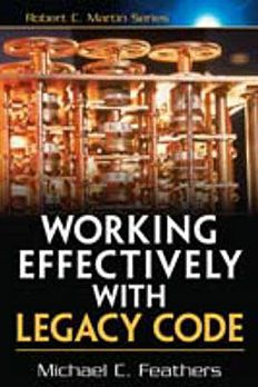 Working Effectively with Legacy Code book cover